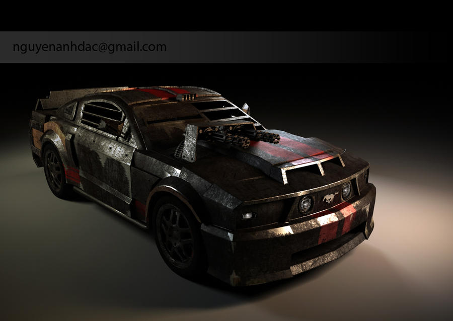 Death Race - Mustang 1 by nguyenanhdac on DeviantArt