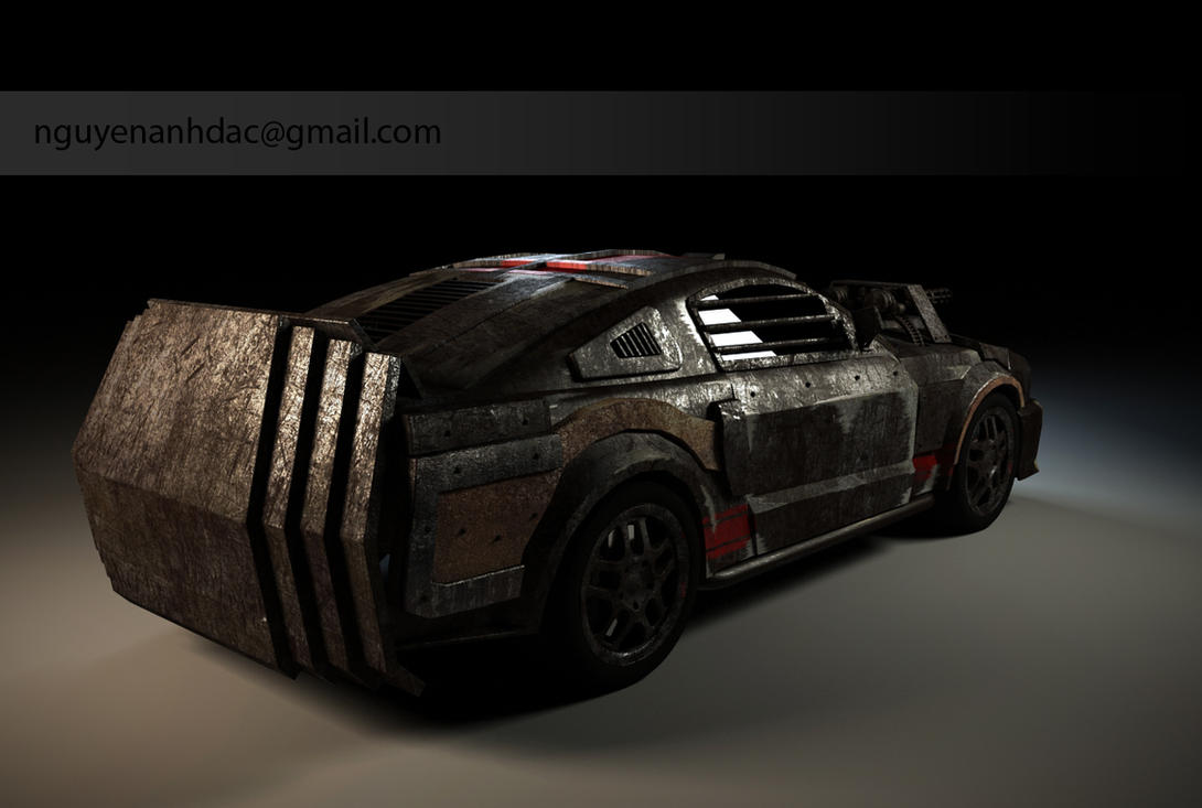 Death Race - Mustang 2 by nguyenanhdac on DeviantArt
