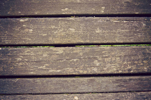 Separated wood texture