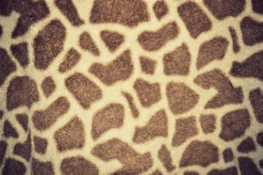 Giraffe Print Texture by HollyDGF