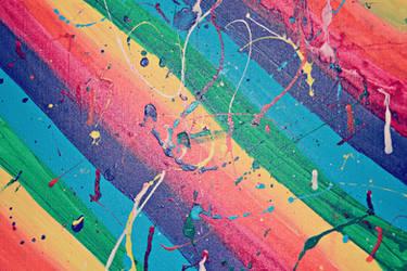 Rainbow Paint Splatter Texture 1