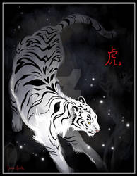 Candle Flies Tiger