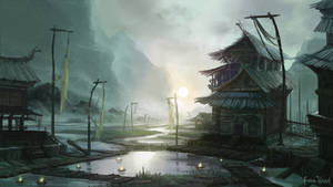 . Tideland Village . colonize