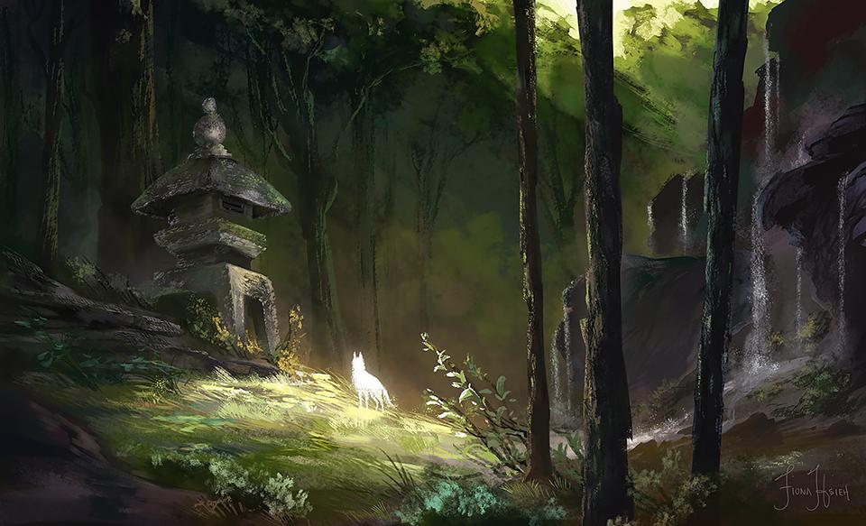 Near the Spirits