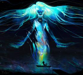 Lake Goddess by FionaHsieh