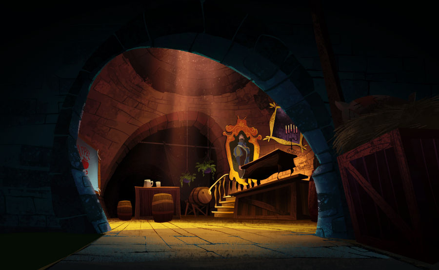 Tangled: sewer