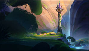 Rapunzels Tower - Tangled the series