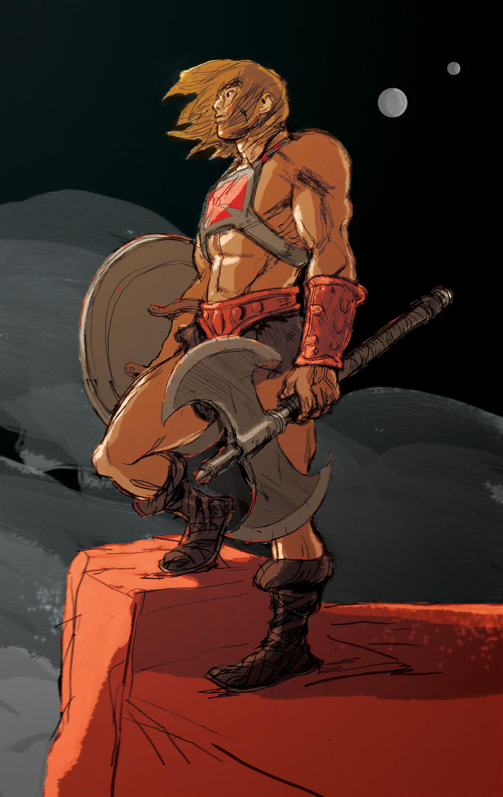 he man fan art by AntoineDode