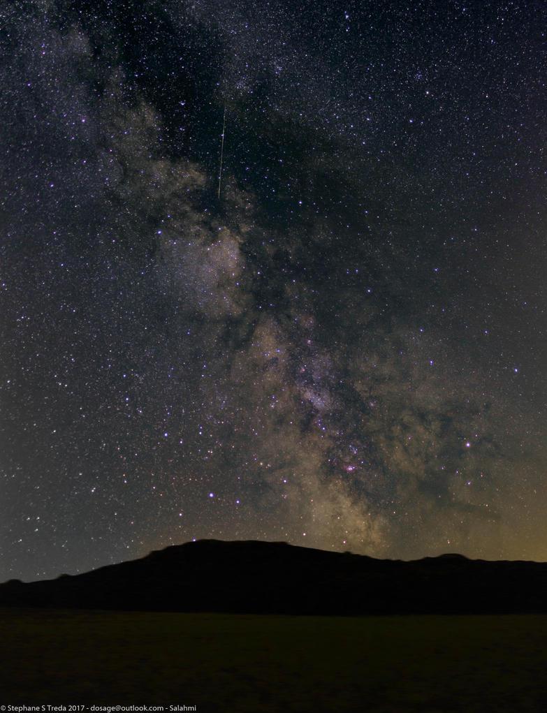 Summer Milkyway (Sagitarus and Eagle regions) by Salahmi