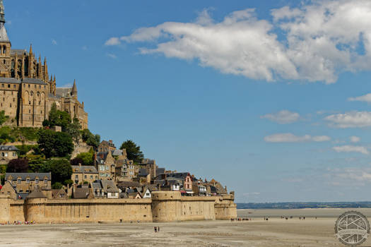 Mt St Michel - Scale and gigantism
