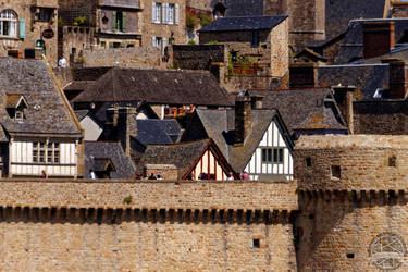 Mt St Michel - A Microcity by Salahmi