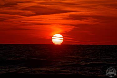 Sunrise and ocean