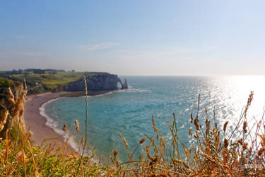 Etretat's beach by Salahmi