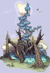 Dragon Tree[Pixel Art]
