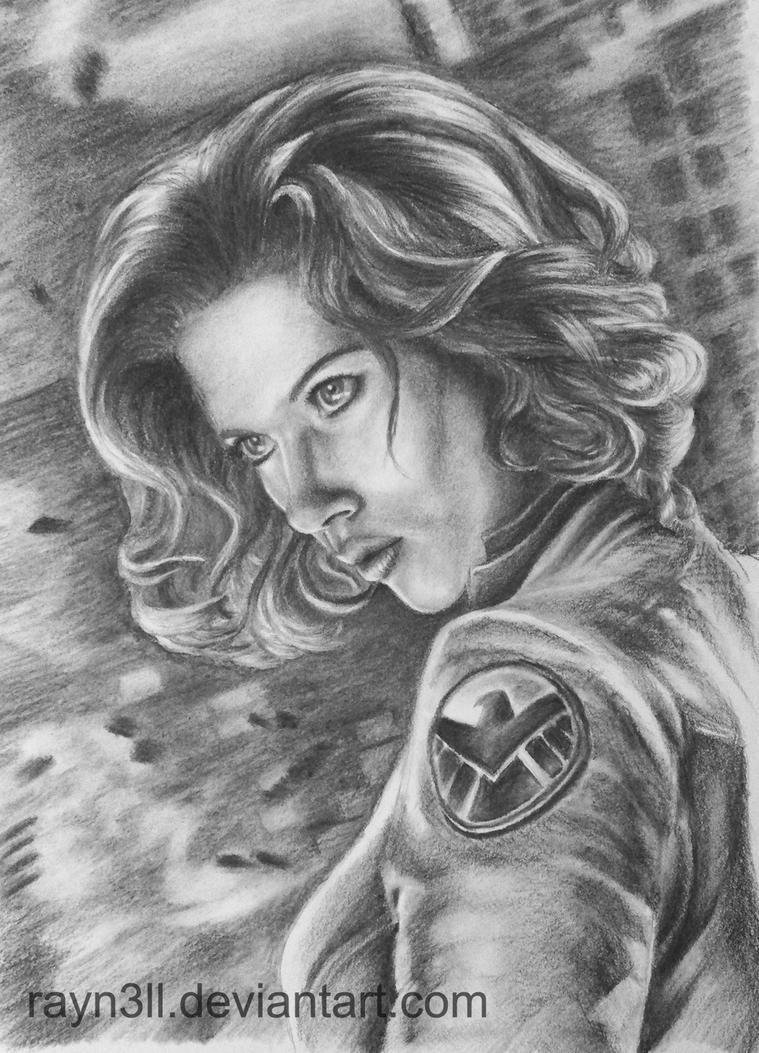 Natalia 'Natasha' Alianovna Romanova by Rayn3ll