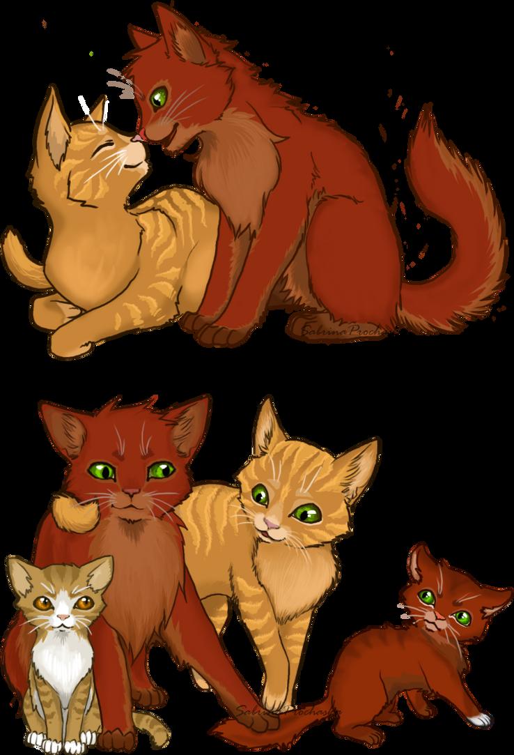 Firestar's Family by creanima