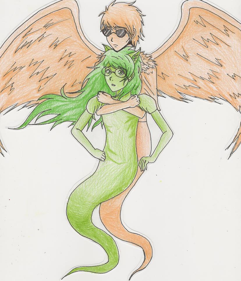 Angel in the Night by LuvAngelpie