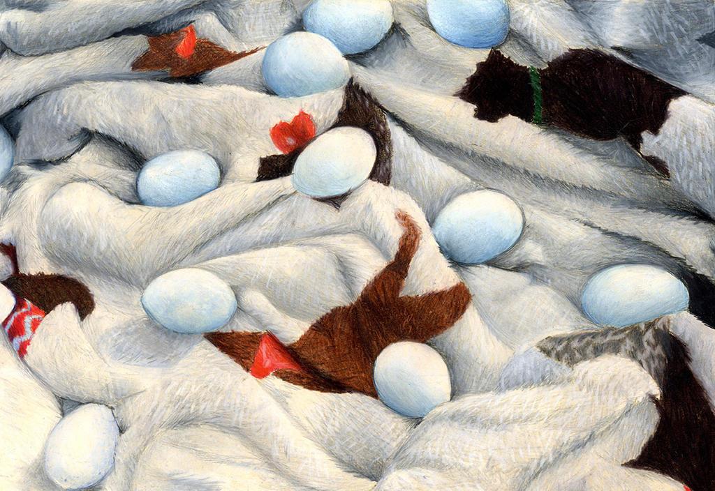 Eggs in a Blanket: Breadth 8 by LuvAngelpie
