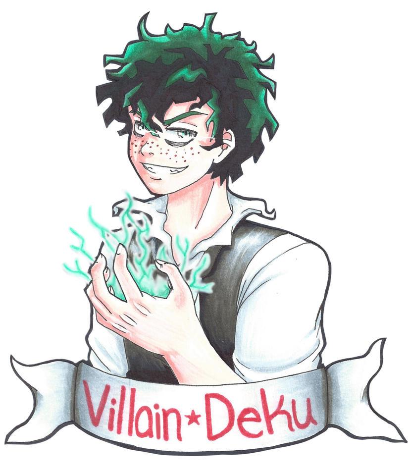 Villain Deku By LuvAngelpie On DeviantArt