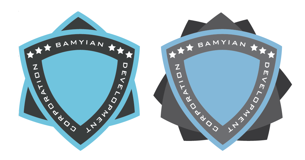 Bamyian Development Corporation - logotypes by Nyctaeus