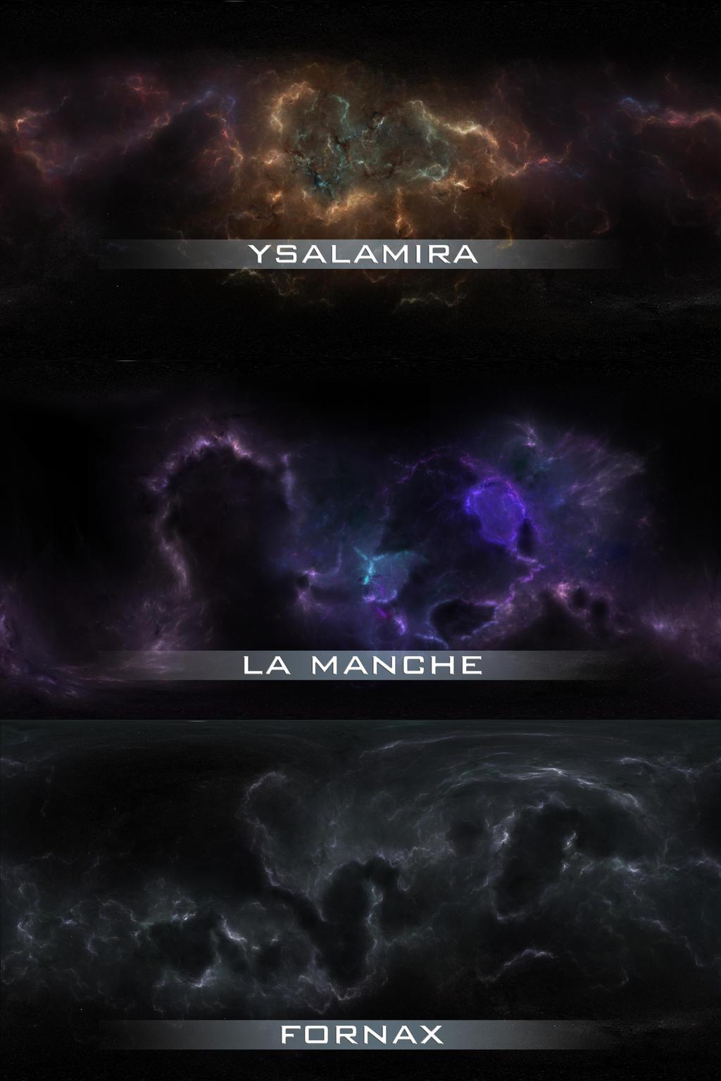Nebulae Skydomes by Nyctaeus