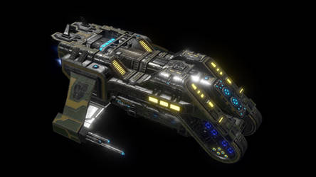 Anteros Transport Ship - Ingame