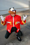 Dr Eggman cosplay in Jardin Japones 2