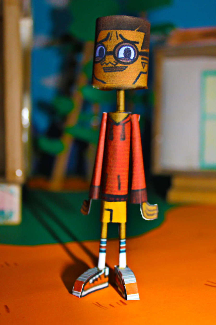 Cameron TDROTI from Total Drama Papercraft by ViluVector