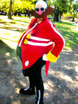 Dr Eggman cosplay in a Picnic 1