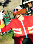 Dr Eggman Cosplay in a Picnic 3
