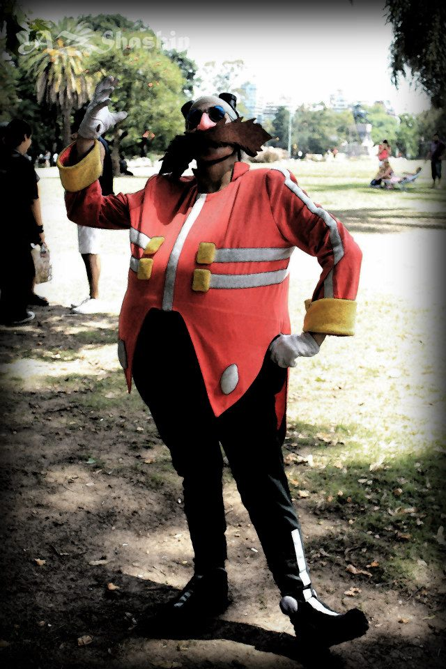 Dr Eggman cosplay - The Dark Side by ViluVector