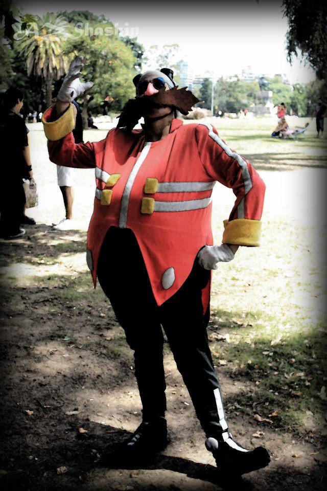 Dr Eggman cosplay - The Dark Side