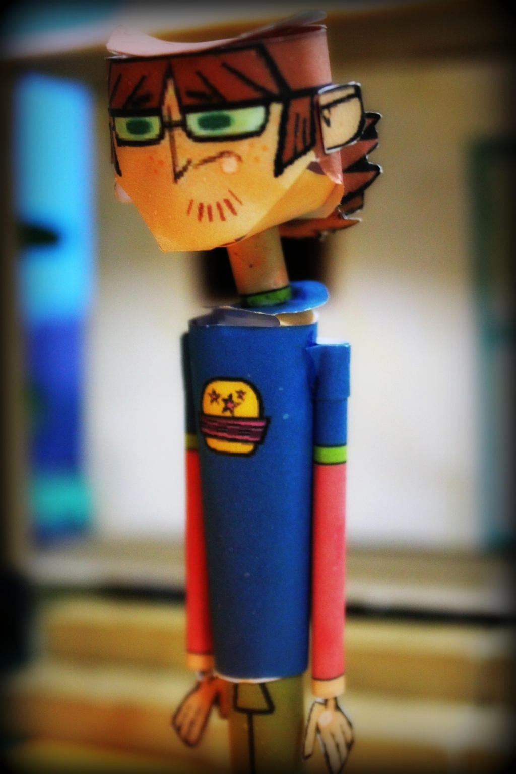Harold from Total Drama Papercraft - Msj en descr- by ViluVector