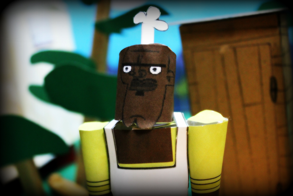 Chef Hatchet from TD Papercraft -Video in Descr- by ViluVector