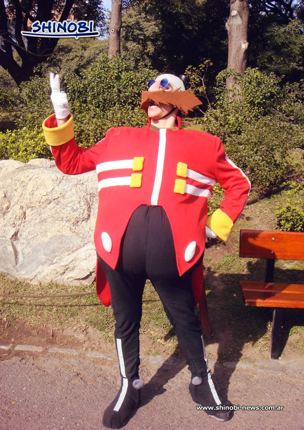 Dr. Eggman Cosplay... by ViluVector