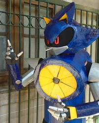 Metal Sonic Cosplay 1 by ViluVector