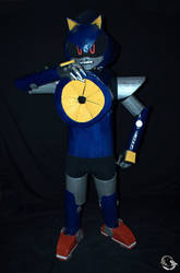 Metal Sonic Cosplay 2 by ViluVector