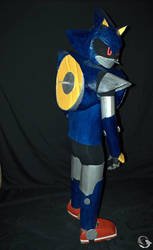 Metal Sonic Cosplay 3 by ViluVector