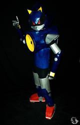 Metal Sonic Cosplay 4 by ViluVector