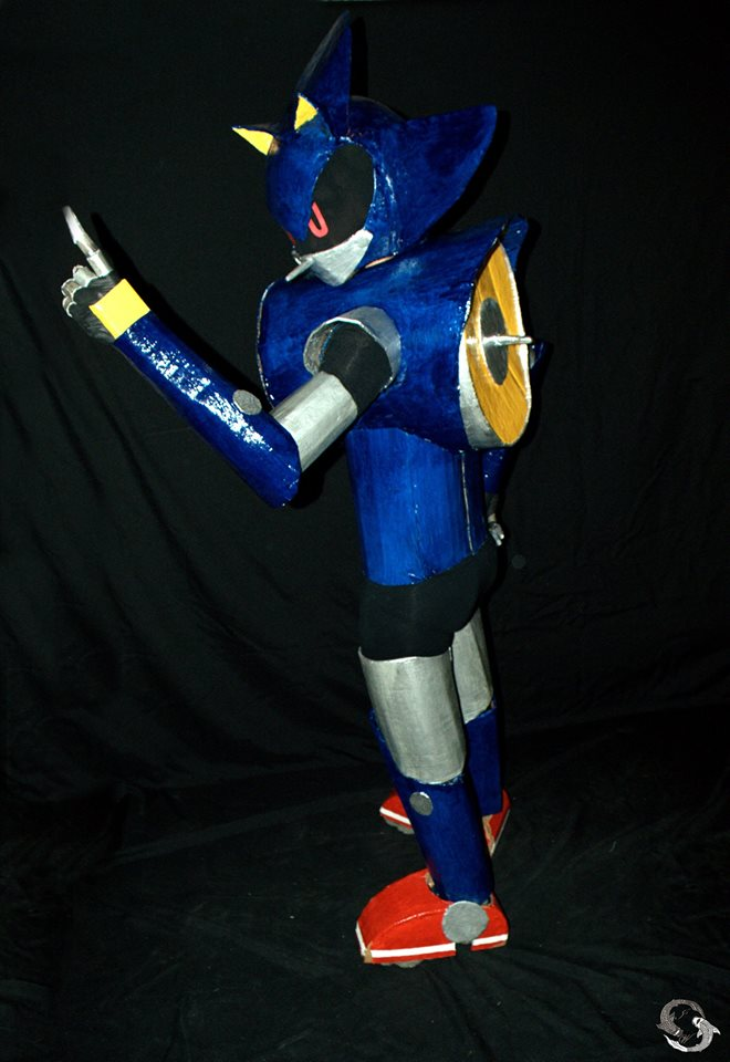 Metal Sonic Cosplay 5 by ViluVector