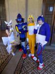 Sonic OVA Team by ViluVector