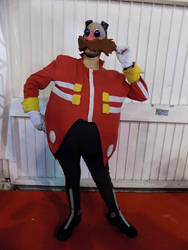 Dr Eggman cosplay - Get a load of this! 2