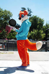 Conker cosplay on China Town! by ViluVector