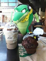 Vector in Starbucks by ViluVector
