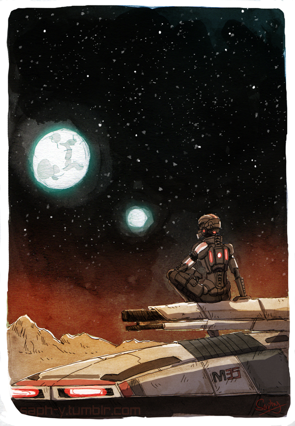 Mass Effect - Uncharted Worlds by Saph-y