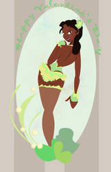 Princess tiana pinup