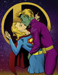 practice-Brainiac 5-Supergirl by SaintAsh
