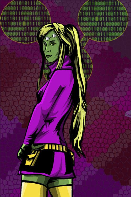 Girl Brainiac 5 request pic by SaintAsh