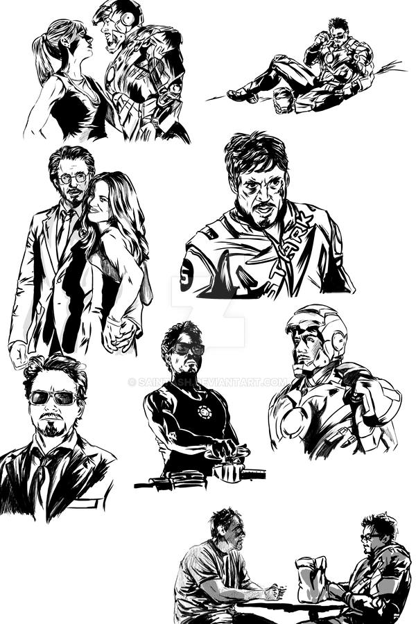 Tumblr Iron Man Dump By Saintash On Deviantart