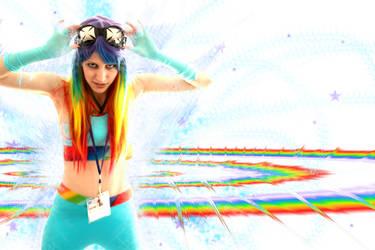 Sonic Rainboom by tweetnbirdy